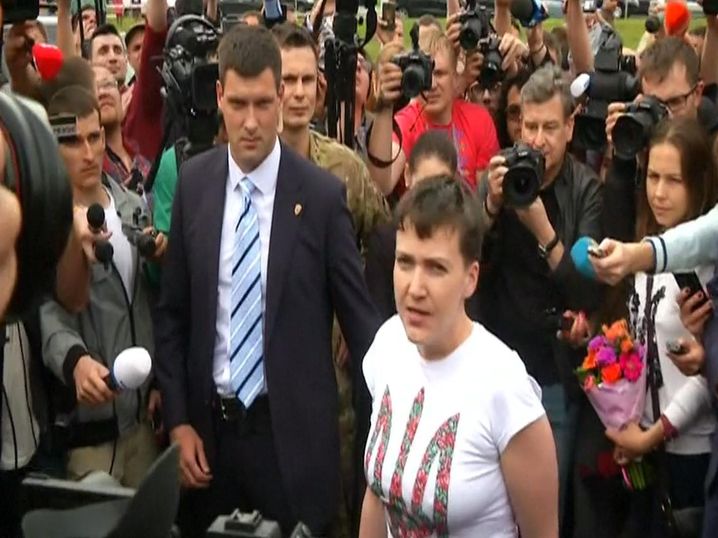 Savchenko arrived in Moscow at the appeal hearing Karpyuk and Klykh 10/26/2016 81