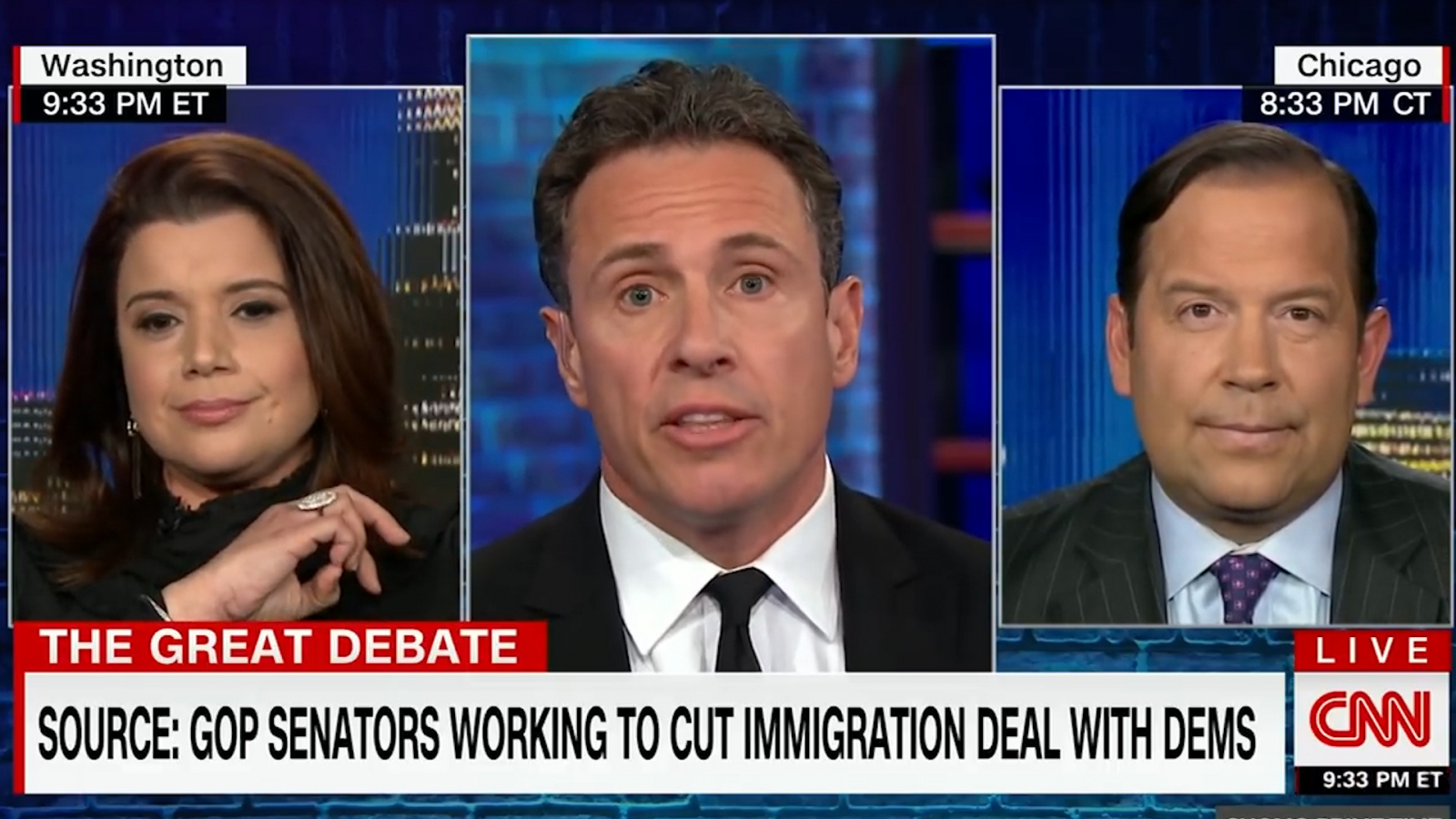 c1d6e18d508 CNN Host Attacks Trump Supporter   Spare Me the BS…the Shutdown Is on Your  Head